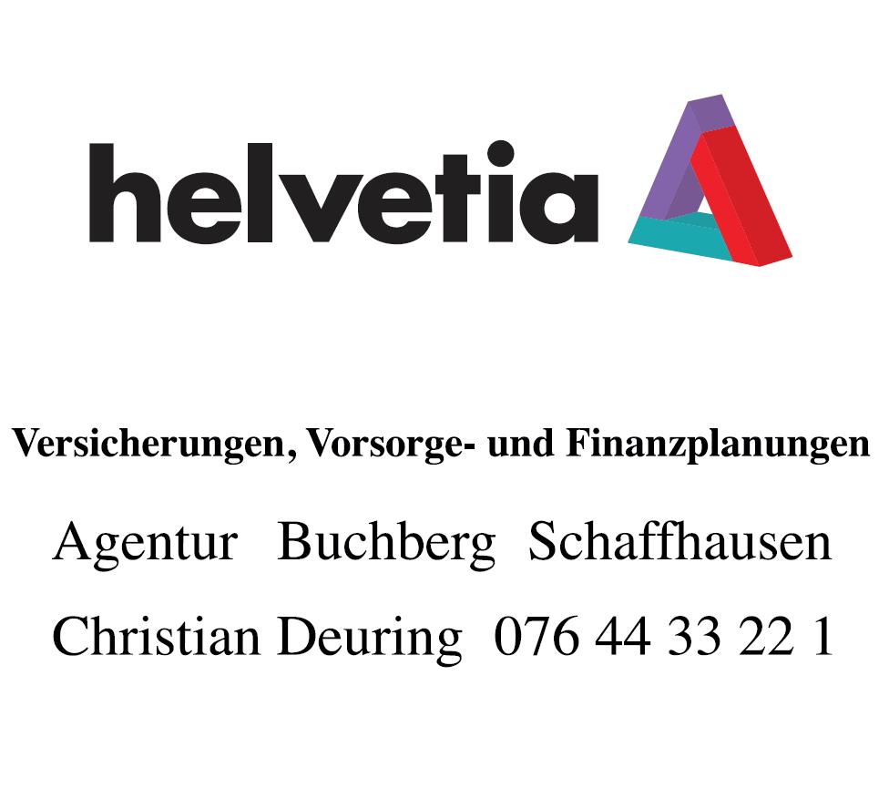 Helvetia Agentur Buchberg Christian Deuring